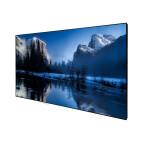 """DELUXX Cinema Slimframe, pantalla de marco delgado de alto contraste - 243 x 136cm, 110"""" - DARKVISION"""
