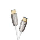 celexon UHD Fibre Optique HDMI 2.0b Câble actif 6m, blanc