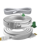 Lot de câbles TC3 professionnels 5 m