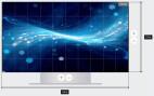 Samsung Smart LED Signage IF025HS Full-HD Paket LED-Wall 2.5mm Pixel Pitch