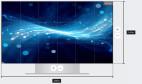 Samsung Smart LED Signage IF015HS Full-HD Paket LED-Wall 1.5mm Pixel Pitch