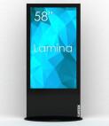 "SWEDX Lamina 50"" Alu - B / 4K, schwarz"