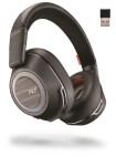 Plantronics Voyager 8200 UC Bluetooth-hörlurar med hörlurar, svart