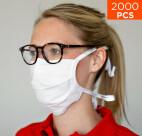 Masque de protection premium nez et bouche celexon 100% coton Oeko-Tex100 - Lot de 2000 pièces