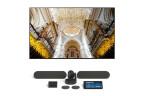 Samsung QM85N + Logitech Tap pour Zoom - Grandes salles