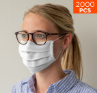celexon makeshift mouth and nose guard - Premium 100% cotton multilayer OkeoTex100, with rubber strap - 2000pcs