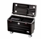 """PARAT Case N10 Malle à roulette pour ordinateurs portables 15,6"""", noir"""
