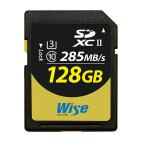 Wise SDXC Card 128 GB/UHSII(U3)