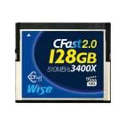 Wise CFast 2.0 Card 3400X Blue 128 GB