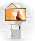 """Hagor Muurlift Pro Light III Flip - in hoogte verstelbaar liftsysteem, muurbeugel voor Samsung FLIP 55&65"""""""