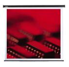 Reflecta spring roller screen 125 x 125 cm