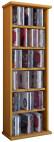 """VCM CD / DVD Möbel """"Vostan"""" - Schrank / Regal ohne Glastür in 7 Farben Farbe: buche"""