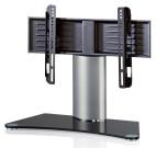 "VCM TV table - Stand ""Windoxa Mini"" black glass"