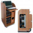 Dateks Notebook-Trolley mit Multimedia-Ausstattung