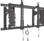 """Support mural Chief LVS1U ConnexSys pour display mur-écran, format paysage, noir (40"""" à 80"""") (Rails inclus)"""