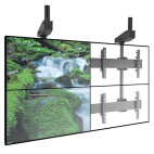 """Support pour plafond Chief LCM2x2U 2x2 pour mur-écran, 42"""" à 55"""""""