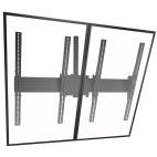 """Support pour plafond Chief LCM2x1UP 2x1 pour mur-écran, inclinable, format portrait, noir, 40"""" à 55"""""""
