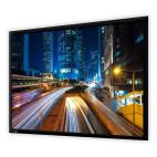 DELUXX Professional schermo a cornice Plano 16:10 bianco opaco Vision Pro, 200 x 125 cm