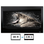 DELUXX Cinema Frame V-Adjustable 266 x 149 cm CG